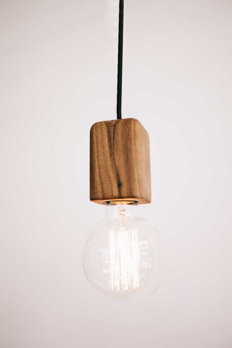 bodhi wooden pendant small sustainable timber feature lighting tlp