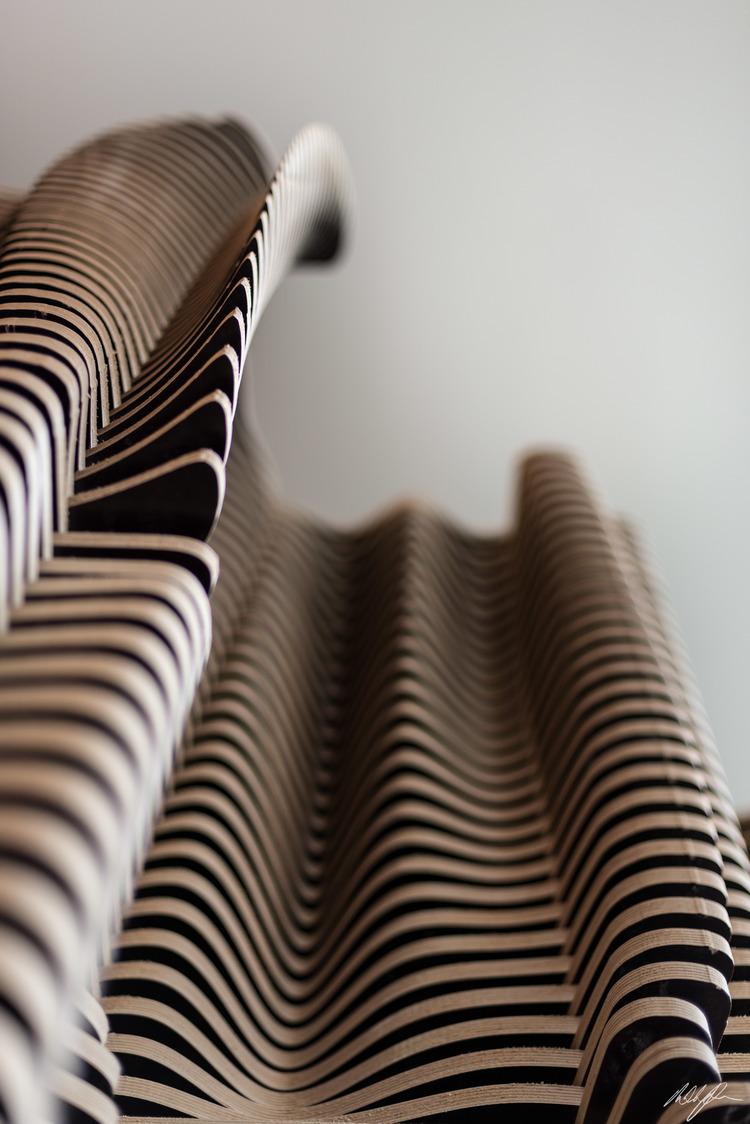 Foxtel freestanding wall curves