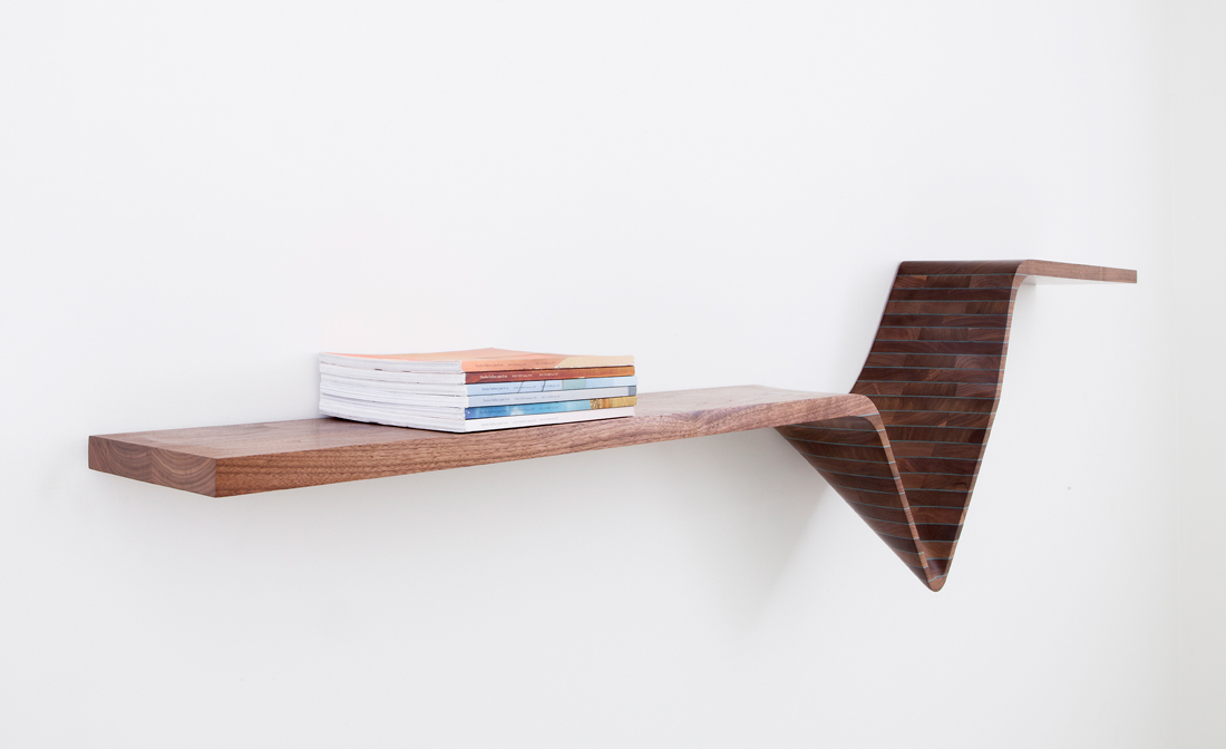 Form Wall Shelf - Jon Goulder - Design Archive