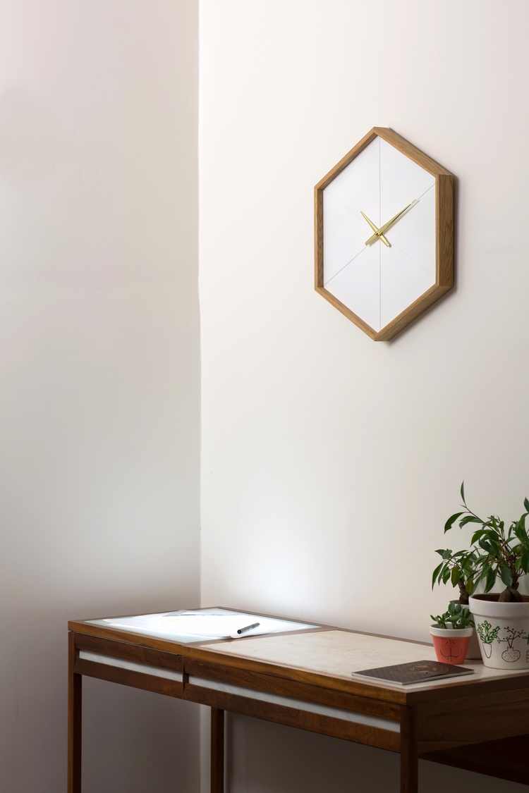 OneSixth Wall Clock - Stephen Roy - Furniture Design - Image Gallery