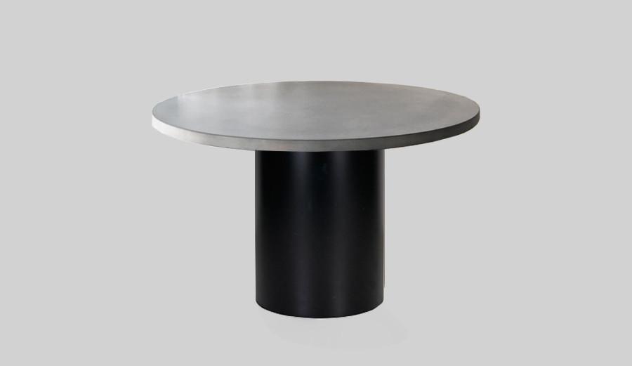 Rose Concrete U0026 Steel Dining Table   SLABSbyDesign   Surry Hills, Australia  1