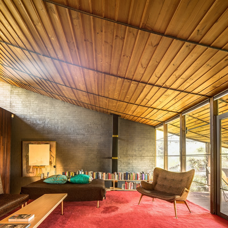 Walsh Street House Formal Sitting Room - Robin Boyd