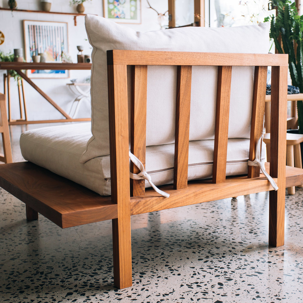 The Finley Sofa One Seater By Jd Lee Furniture Sustainable Furniture