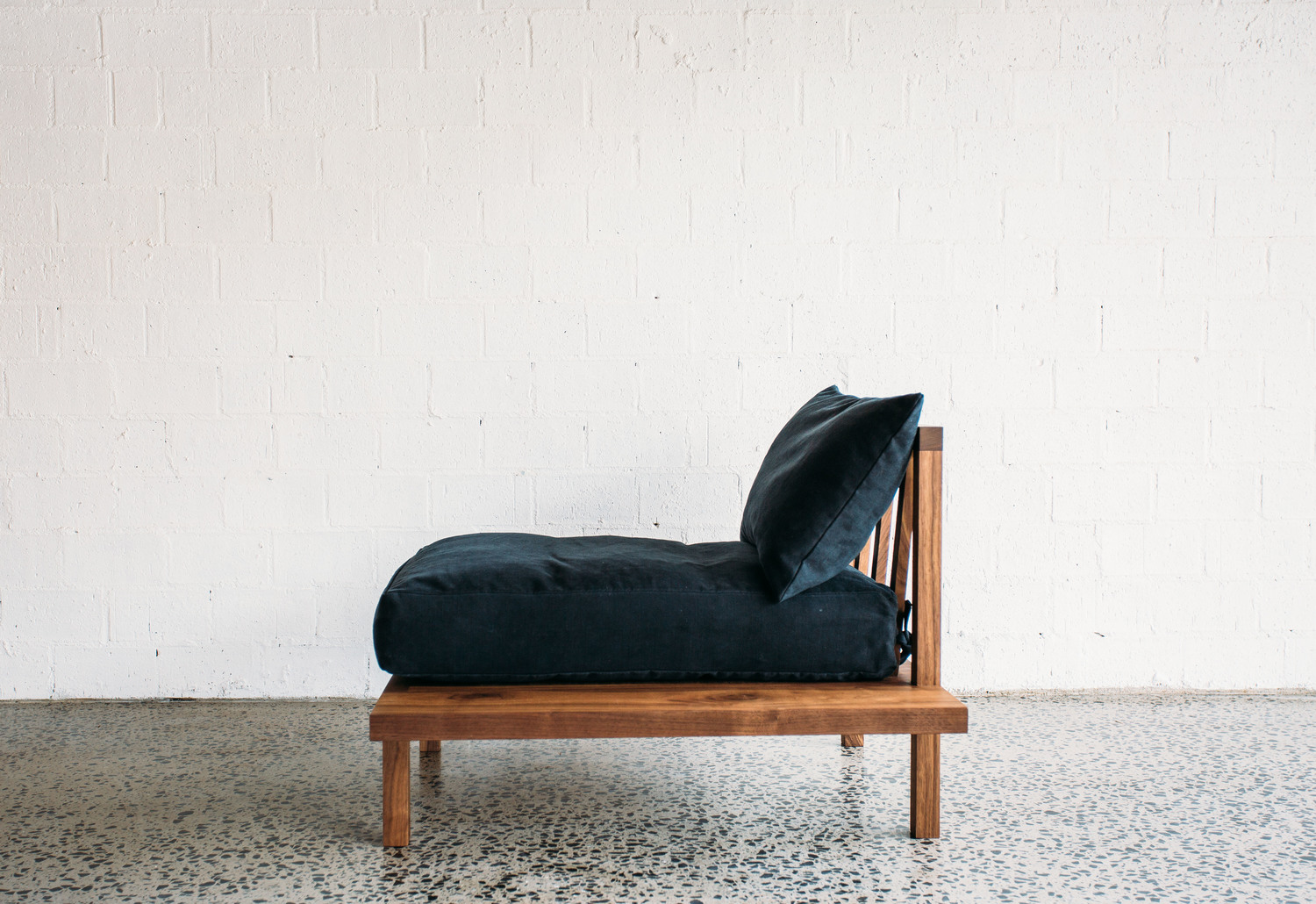 Finley Sofa - 1 Seater - JD.Lee Furniture - Full Side View