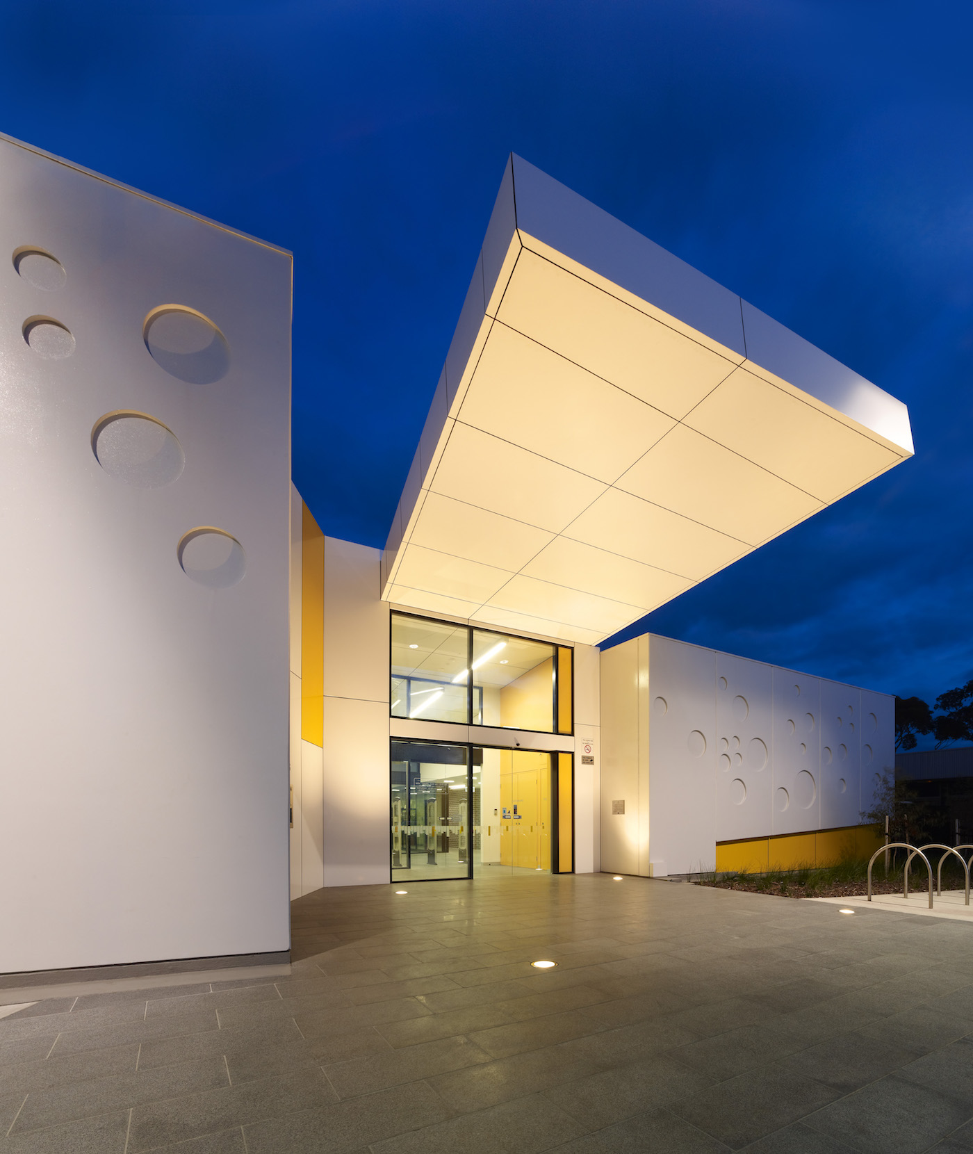 Haskell Architects - Altona North Library - Architecture & Photography Archive