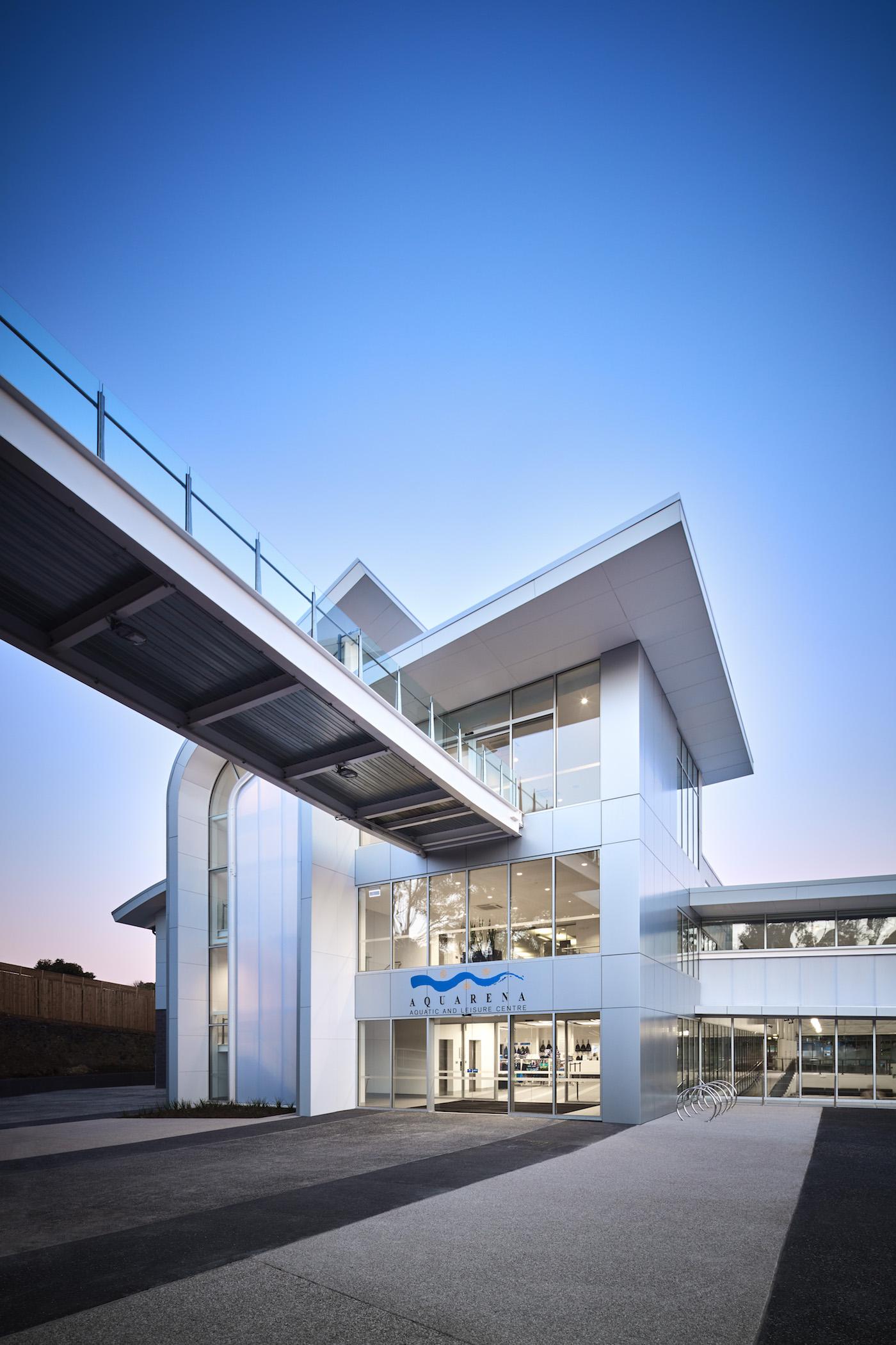 Peddle Thorpe Architects & Ireland Brown Construction - Aquarea - Architecture & Photography Archive