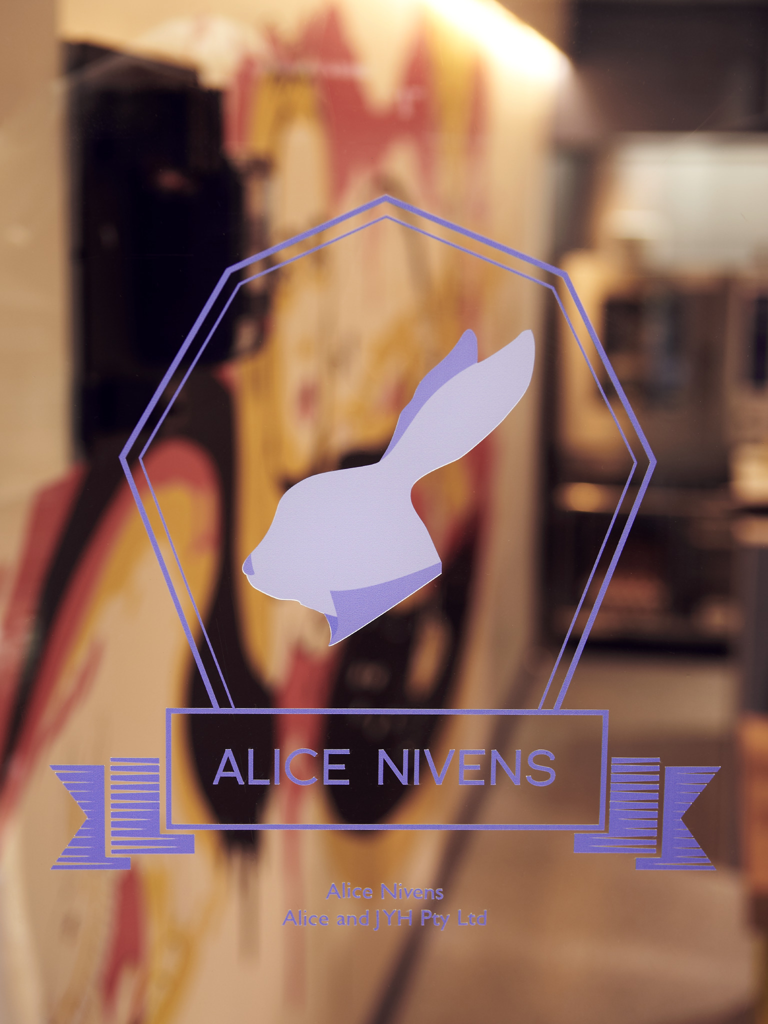 Logo shot of Alice Nivens - Duo Built commercial fit-out