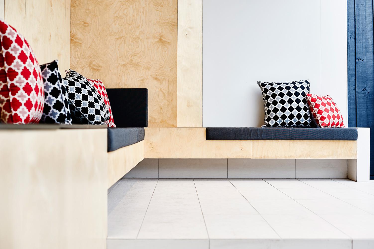 Brighton Bunker - Australian Timber Lounge - Dan Gayfer Design - Architecture Archive