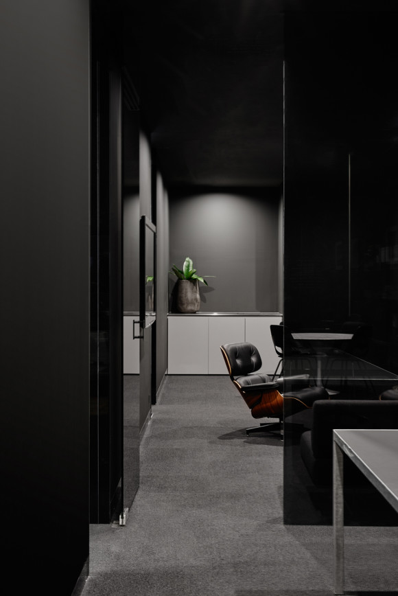 Burnley Office interior - Eames Chair feature - Photographed by Brooke Holm