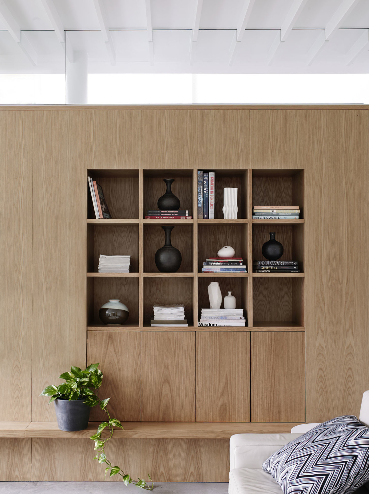 Coogee House - Australian Timber Storage Design - Madeleine Blanchfield Architects - Interior Archive