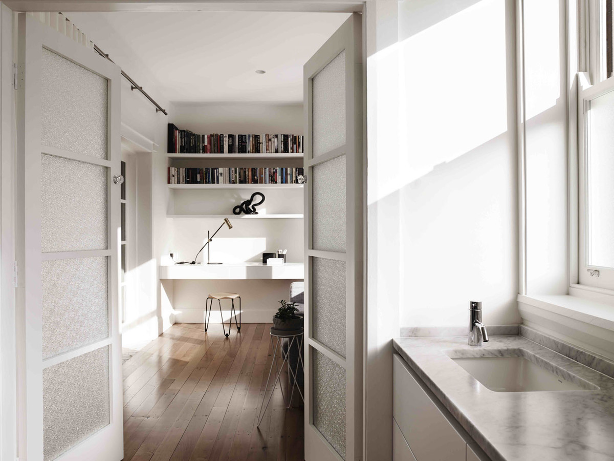 Coogee House - Australian Timber Study room - Madeleine Blanchfield Architects - Interior Archive
