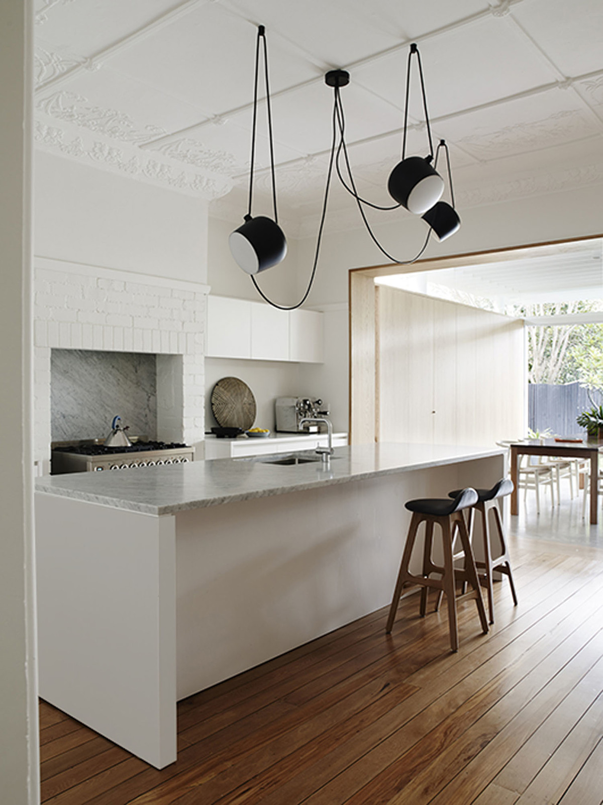 Coogee House - Local Timber Kitchen - Madeleine Blanchfield Architects - Interior Archive