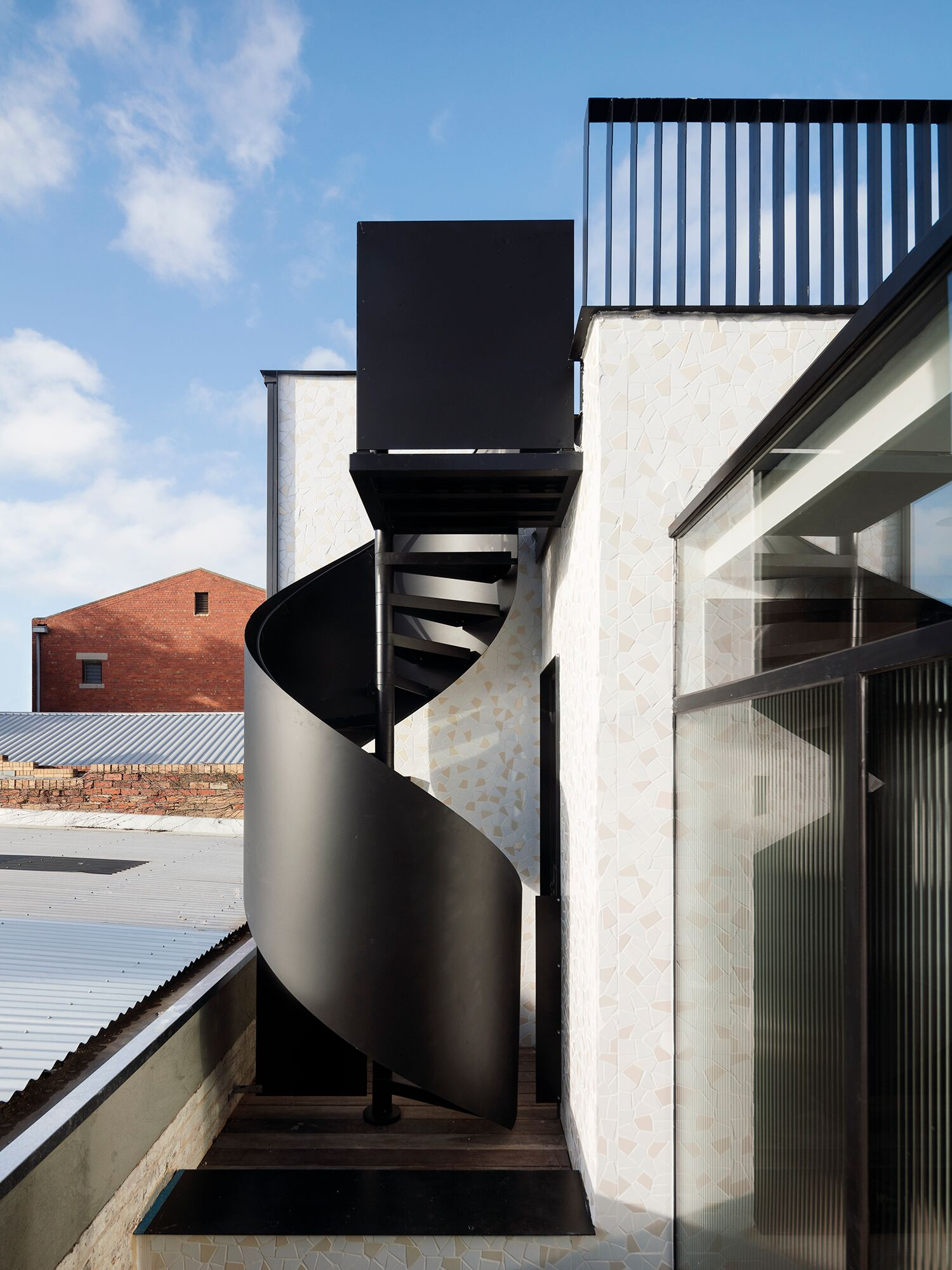 Feature Stairs Pandolfini Architects