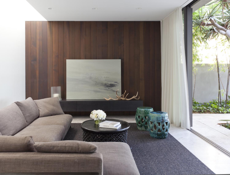 Gordon's Bay House - Australian Lounge Room - Madeleine Blanchfield Architects - Architecture Archive