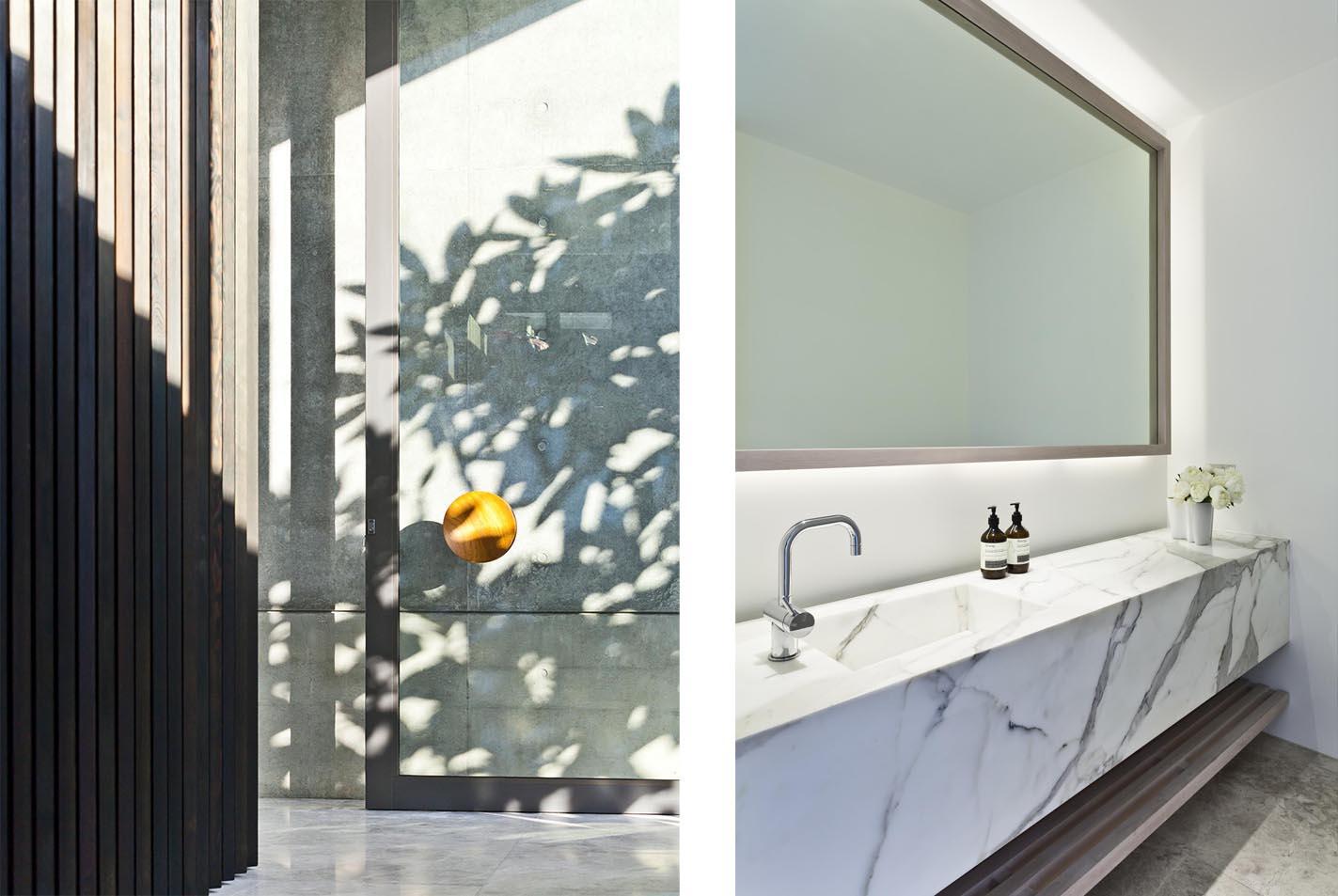 Gordon's Bay House - Local Bathroom Design - Madeleine Blanchfield Architects - Architecture Archive