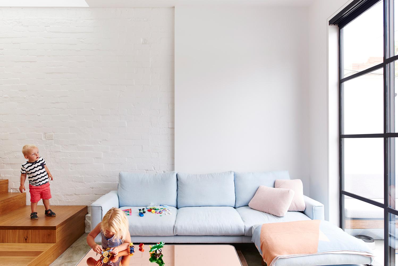 High House - Australian Living Room Timber Detailing - Dan Gayfer Design - Interior Archive