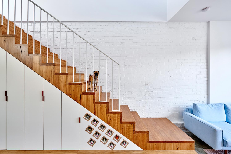 High House - Australian Timber Stairs - Dan Gayfer Design - Interior Archive