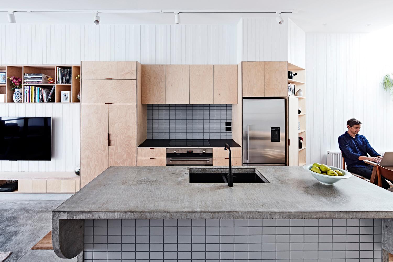 High House - Australian kitchen Timber Detailing - Dan Gayfer Design - Interior Archive