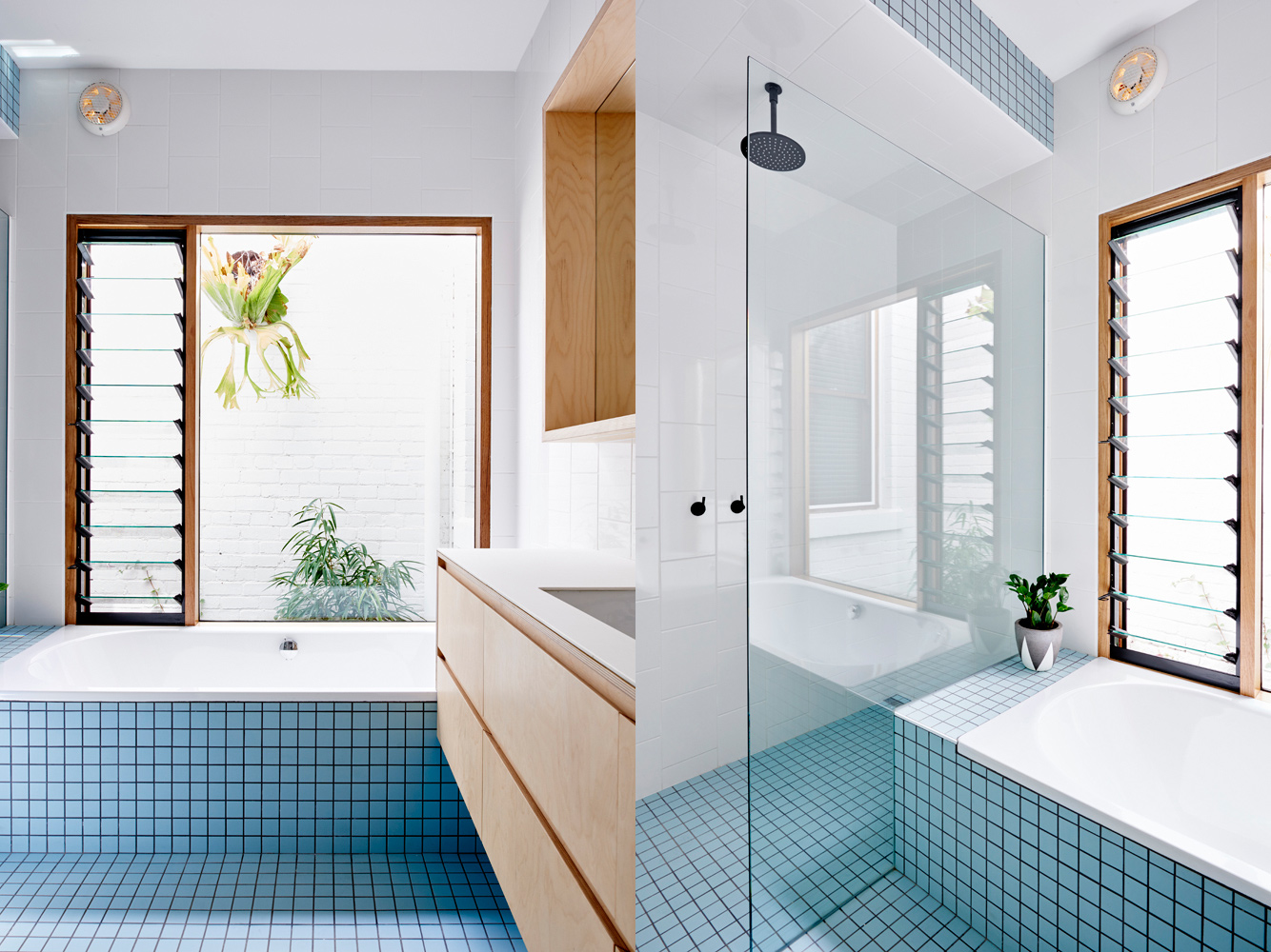 High House - Local Bathroom Timber - Dan Gayfer Design - Interior Archive