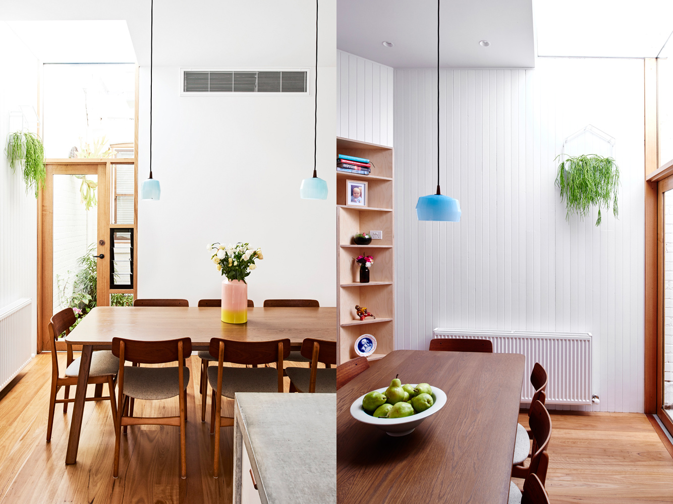 High House - Local Dining Room Timber Detailing - Dan Gayfer Design - Interior Archive