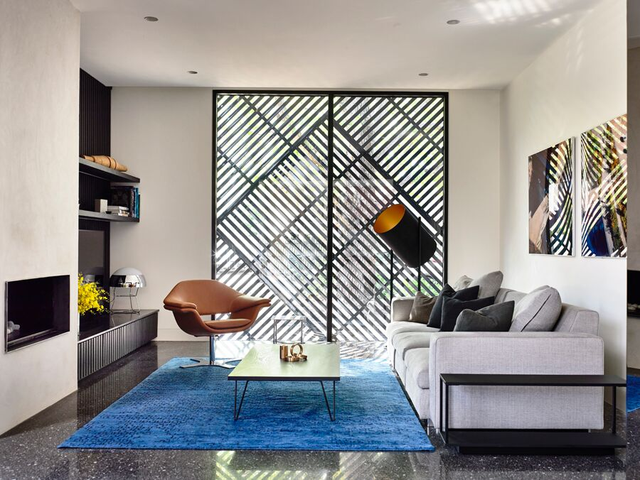 Couch and living room - Australian Design and architecture - Duo Built