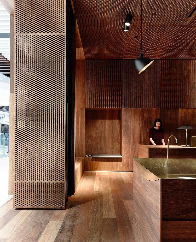Aesop Emporium by Kerstin Thompson Architecs - Melbourne, Victoria. Photographed by Derek Swalwell.