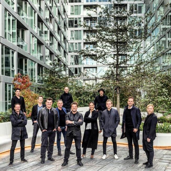 Bjarke Ingels & Team - Courtest of Inglis' Instagram.