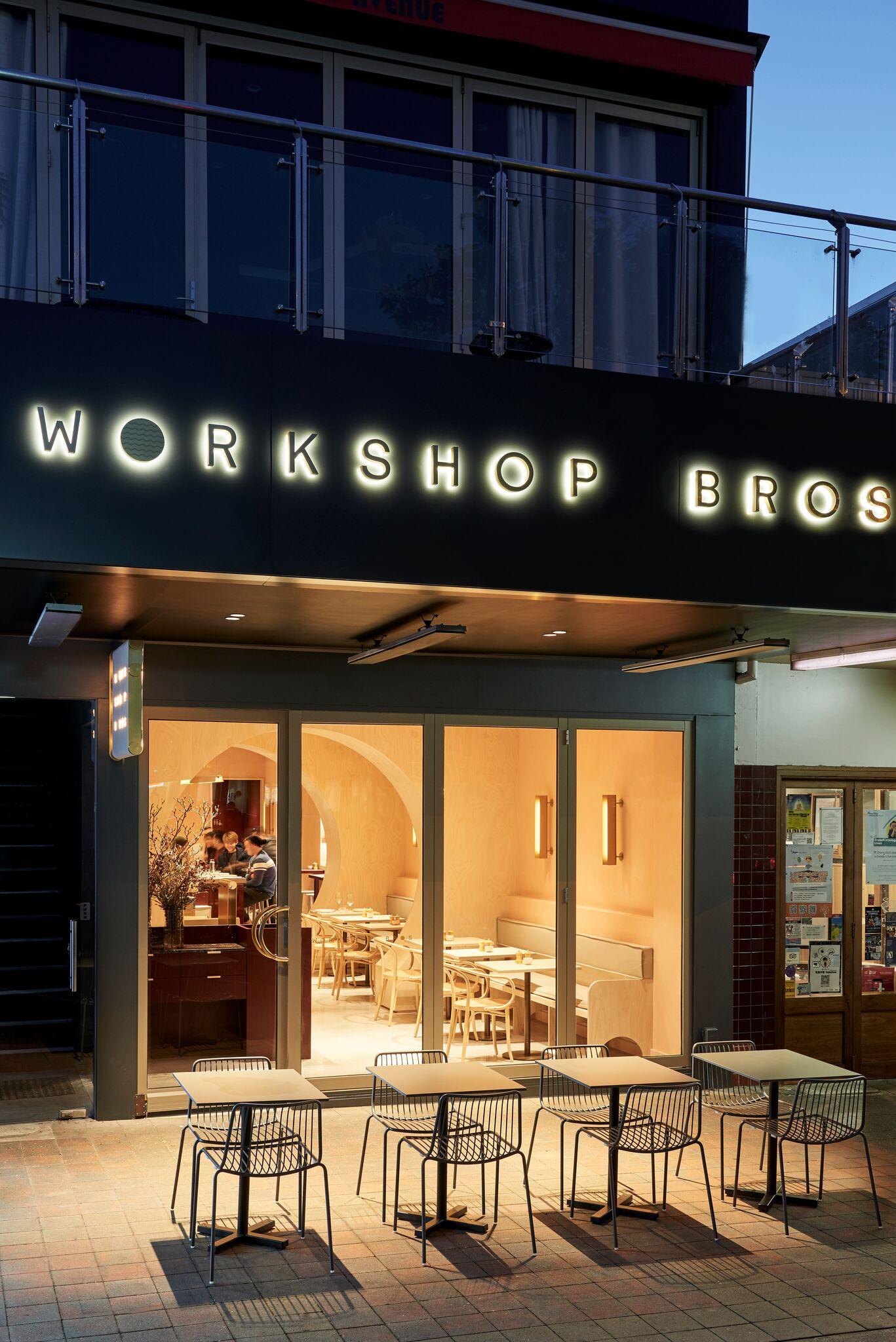 Workshop Bros - Glen Waverley - Interior - Food Win Design - Image 1