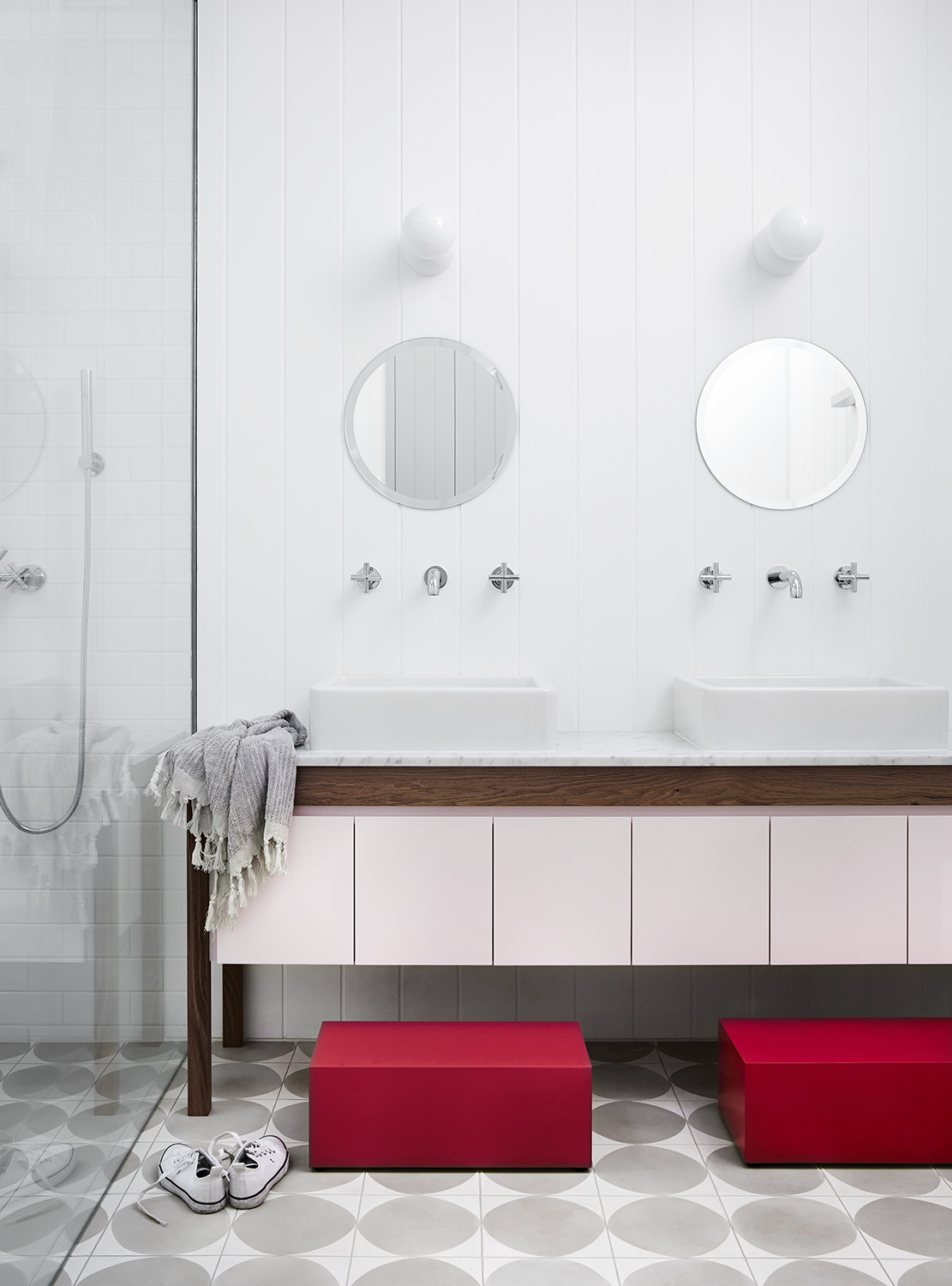 Bathroom Design – Normonby – Whiting Architects – Melbourne, VIC ...