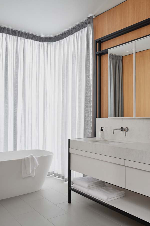 Bathroom Interior - Williamstown House - Fiona Lynch - Collingwood, VIC, Melbourne - The Local Project