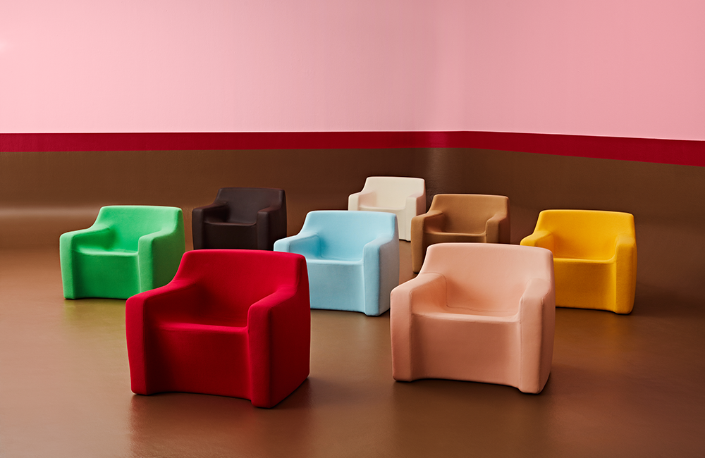 Color Chairs - FIRST BITE Collection - Ross Didier - Heidelberg West, VIC, Melbourne - The Local Project