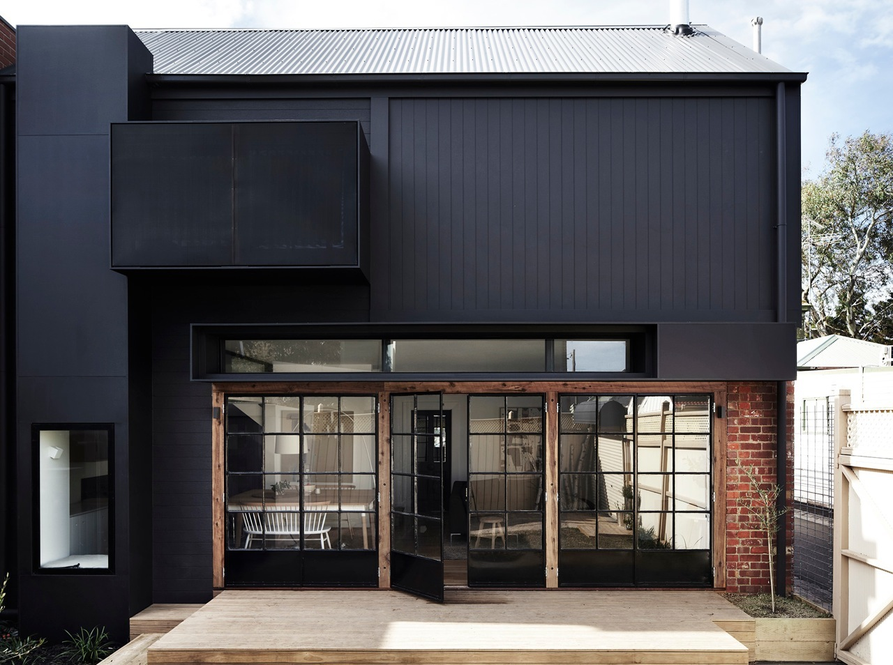 Exterior Entrance - Kerferd- Whiting Architects - Melbourne, VIC, Australia - The Local Project