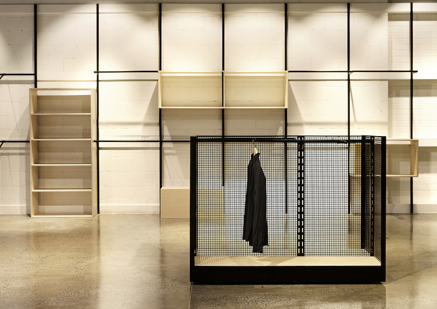 Interior Clothing Rack - LOD - Harrison Interiors - Elwood, VIC, Australia - The Local Project