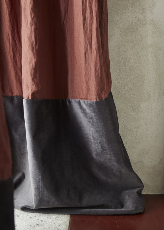 Interior Curtain - Anchovy - Fiona Lynch - Collingwood, VIC, Melbourne - The Local Project