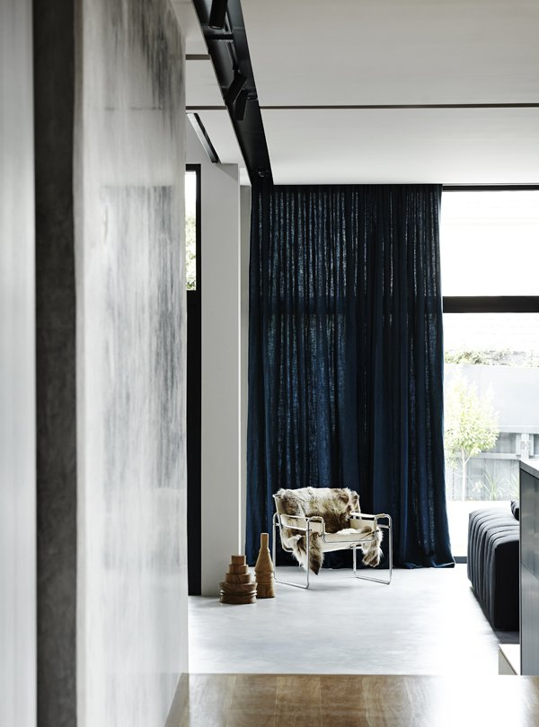 Interior Curtains - Balwyn House - Fiona Lynch - Collingwood, VIC, Melbourne - The Local Project