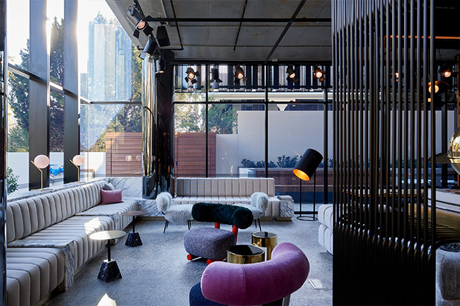 Seating Interior - Tribe Hotel, Perth - Travis Walton - Melbourne, VIC, Australia - The Local Project