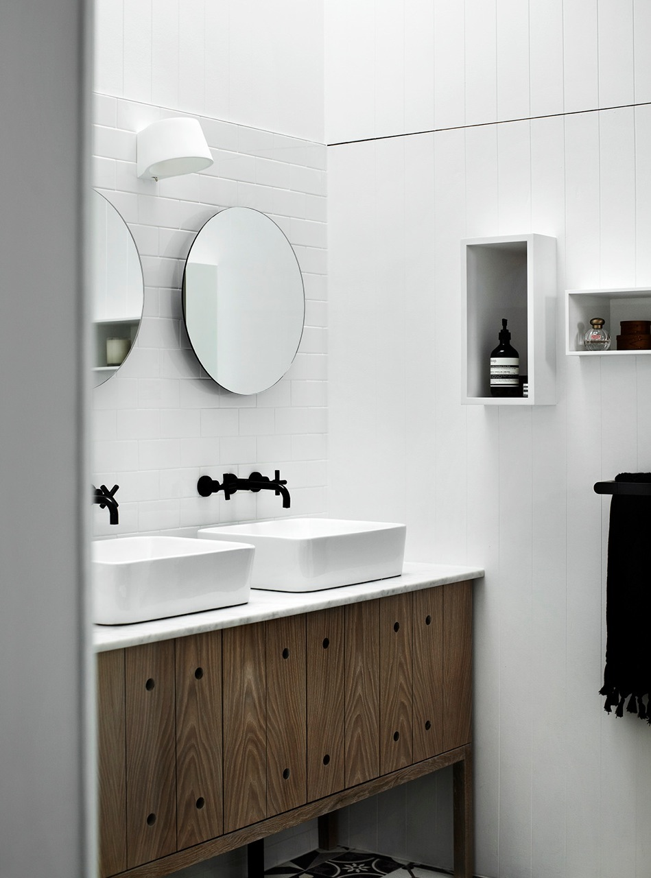 Timber Bathroom – Kerferd- Whiting Architects – Melbourne, VIC ...