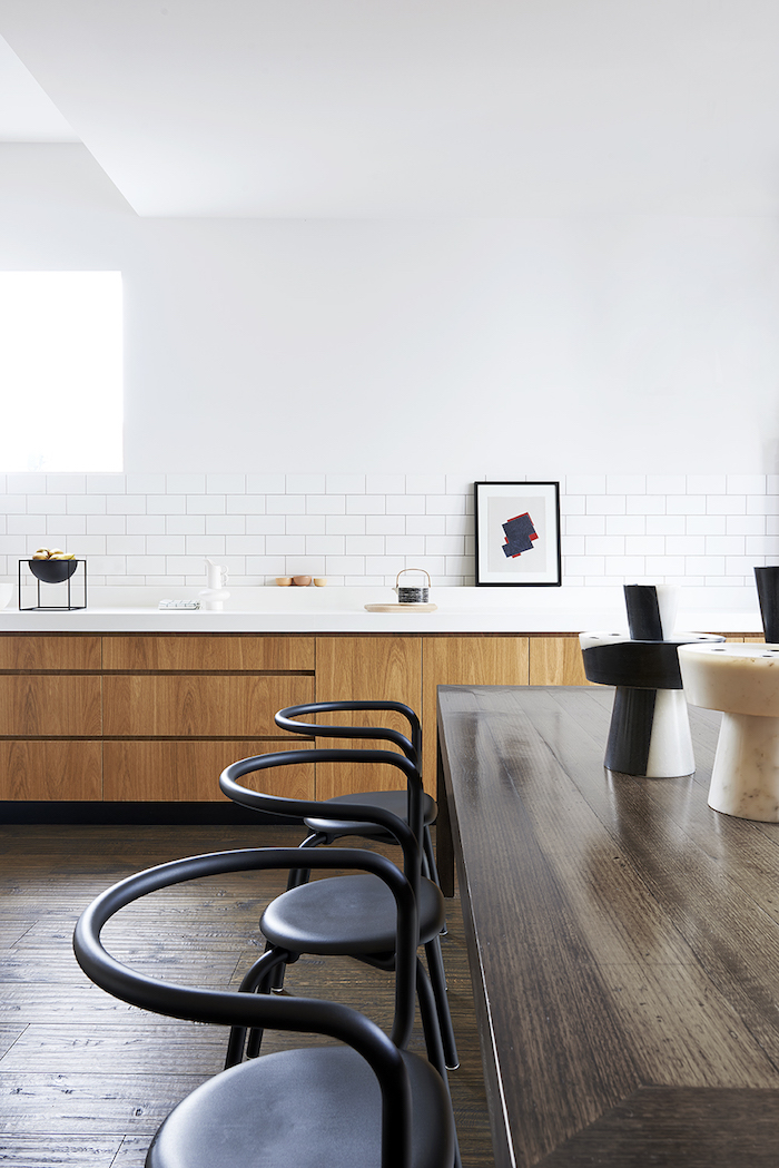 Timber Table - Richmond Residence - Harrison Interiors - Elwood, VIC, Australia - The Local Project