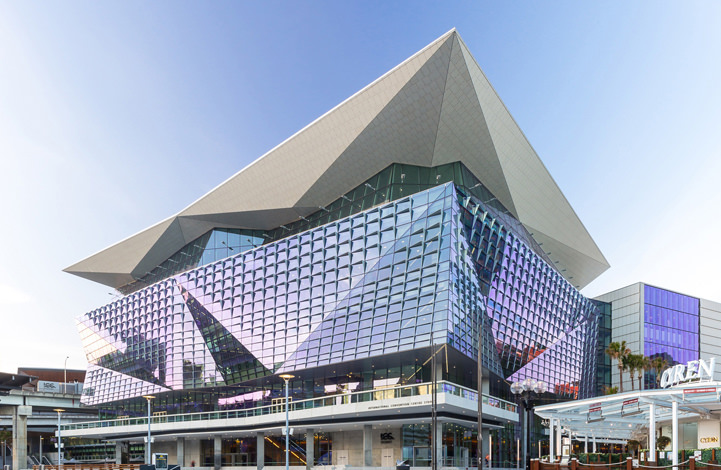 Modern Contemporary Design Of The ICC By Hassell Studio, Sydney, NSW