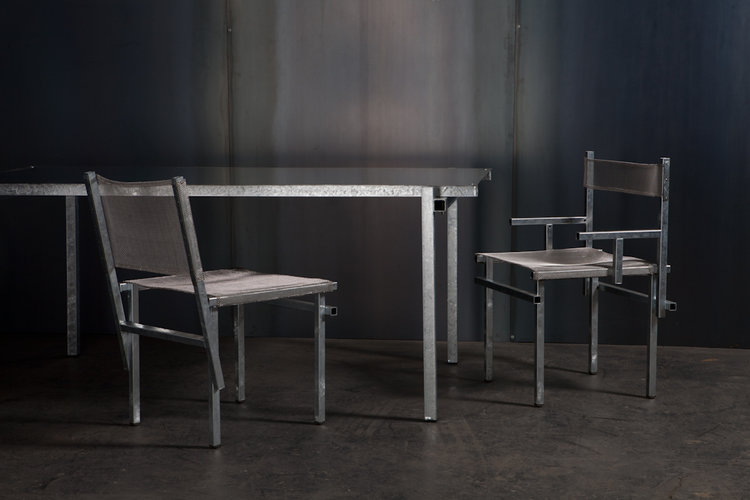 Local Australian Home Furniture Product Design-The Galvanised by Michael Gittings Studio