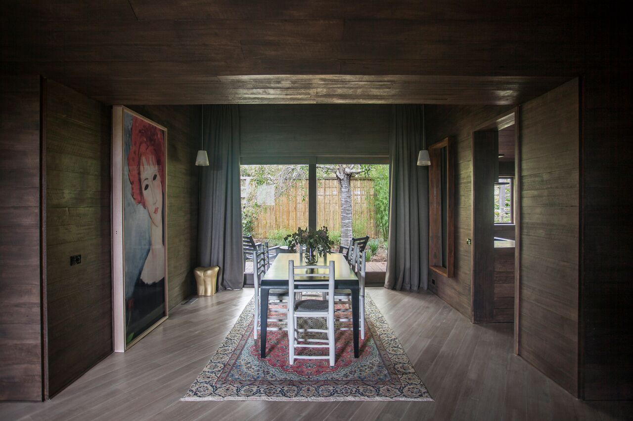 Hardwood House By Adam Kane Architects In Dayelsford, Vic (4)