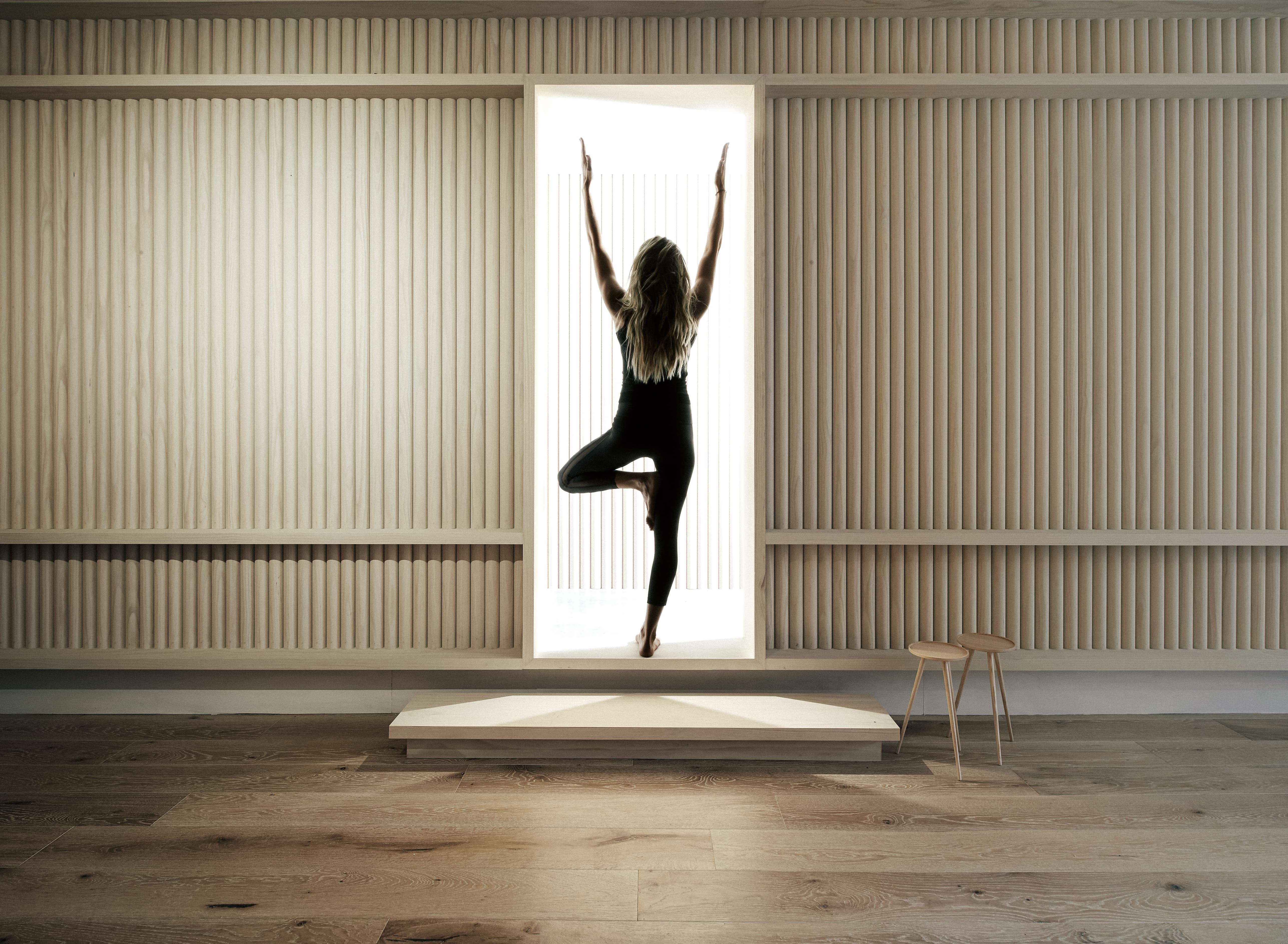 Local Australian Interior Design-Move Yoga Designed by Hecker Guthrie