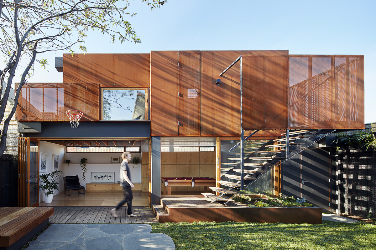 Studio House By Zen Architects In Melbourne, Vic, Australia (1)