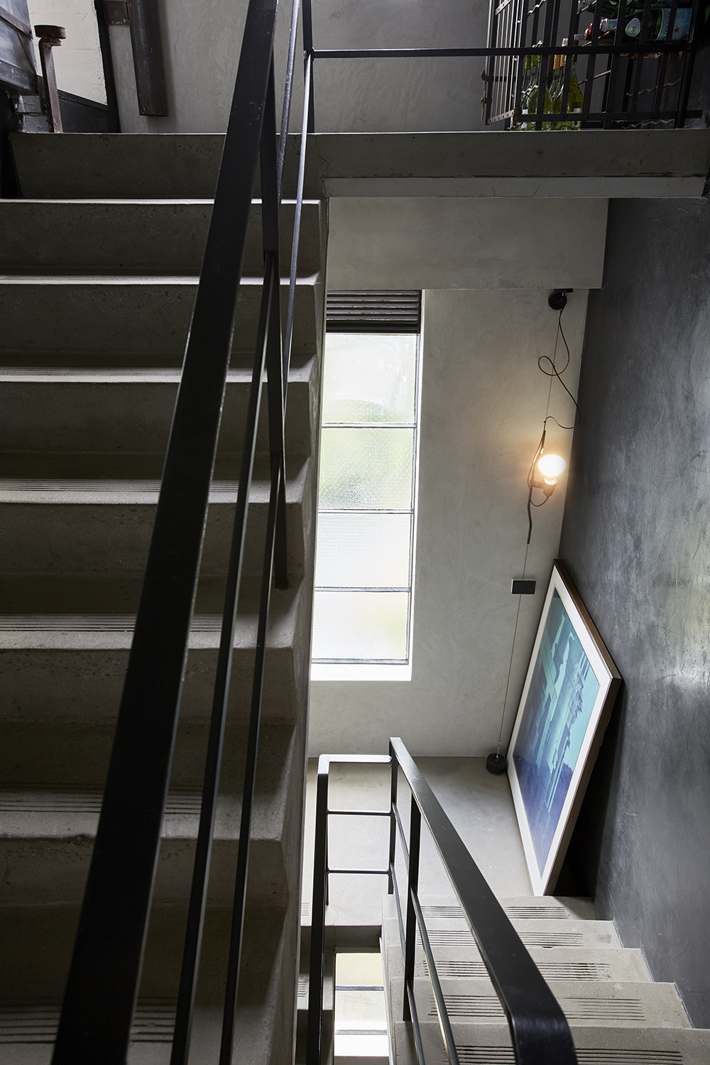 Stairway Interior Feature - South Yarra Residence by Workroom - The Local Project