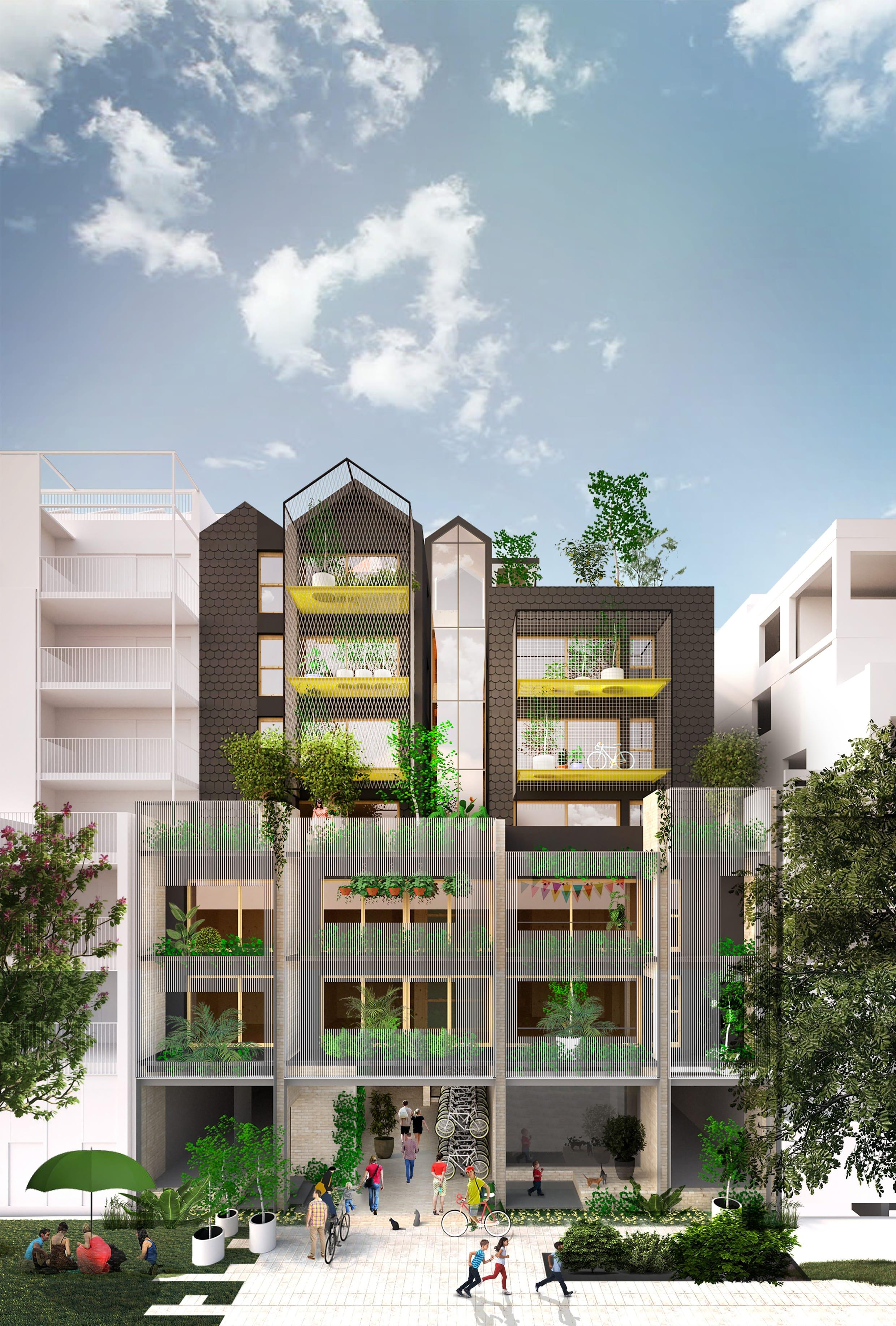 Ng Village Austin Maynard Architects Plan