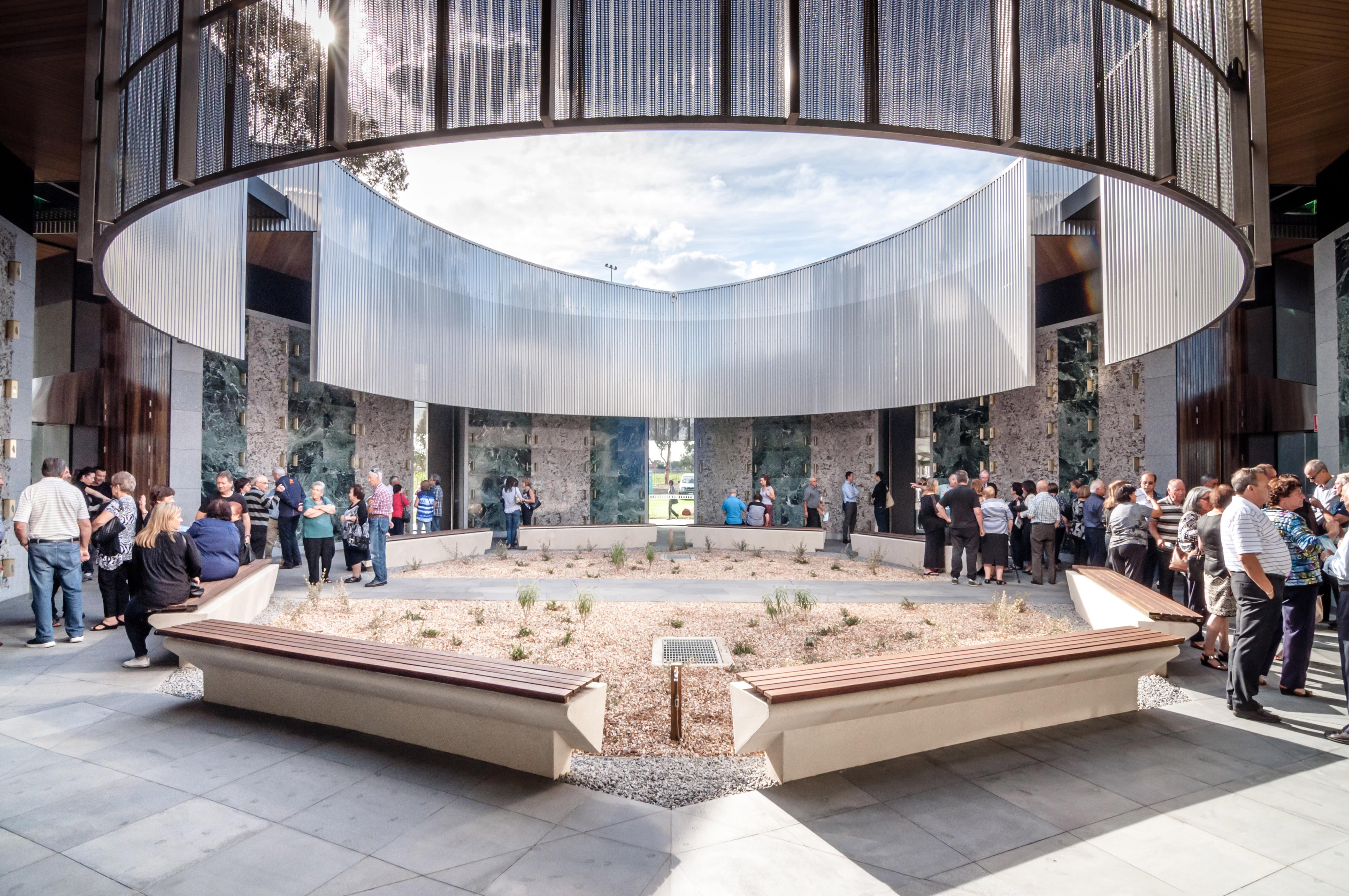 The 2018 Victorian Architecture Awards Feature Article Australiaatrium Of Holy Angels Mausoleum Harmer Arch (photog Jonathan Hadiprawira) Min