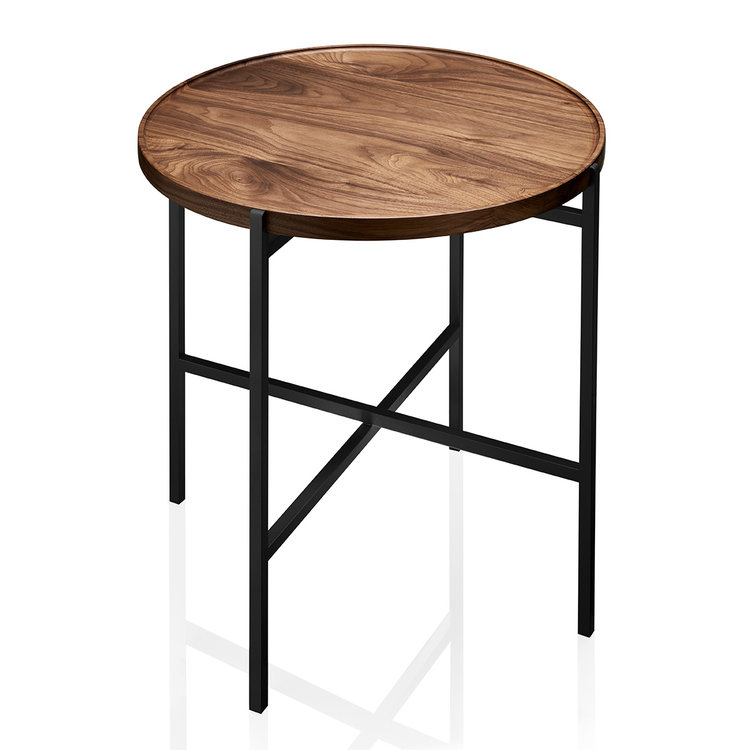 Fold Unlimited Collection Side Table Designed By Eugenie Kawabata Melbourne, Australiatable Bl Walnut Wood 1a Web