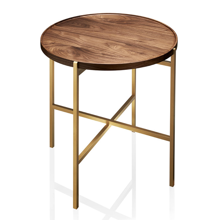 Fold Unlimited Collection Side Table Designed By Eugenie Kawabata Melbourne, Australiatable Walnut Wood 1a Web