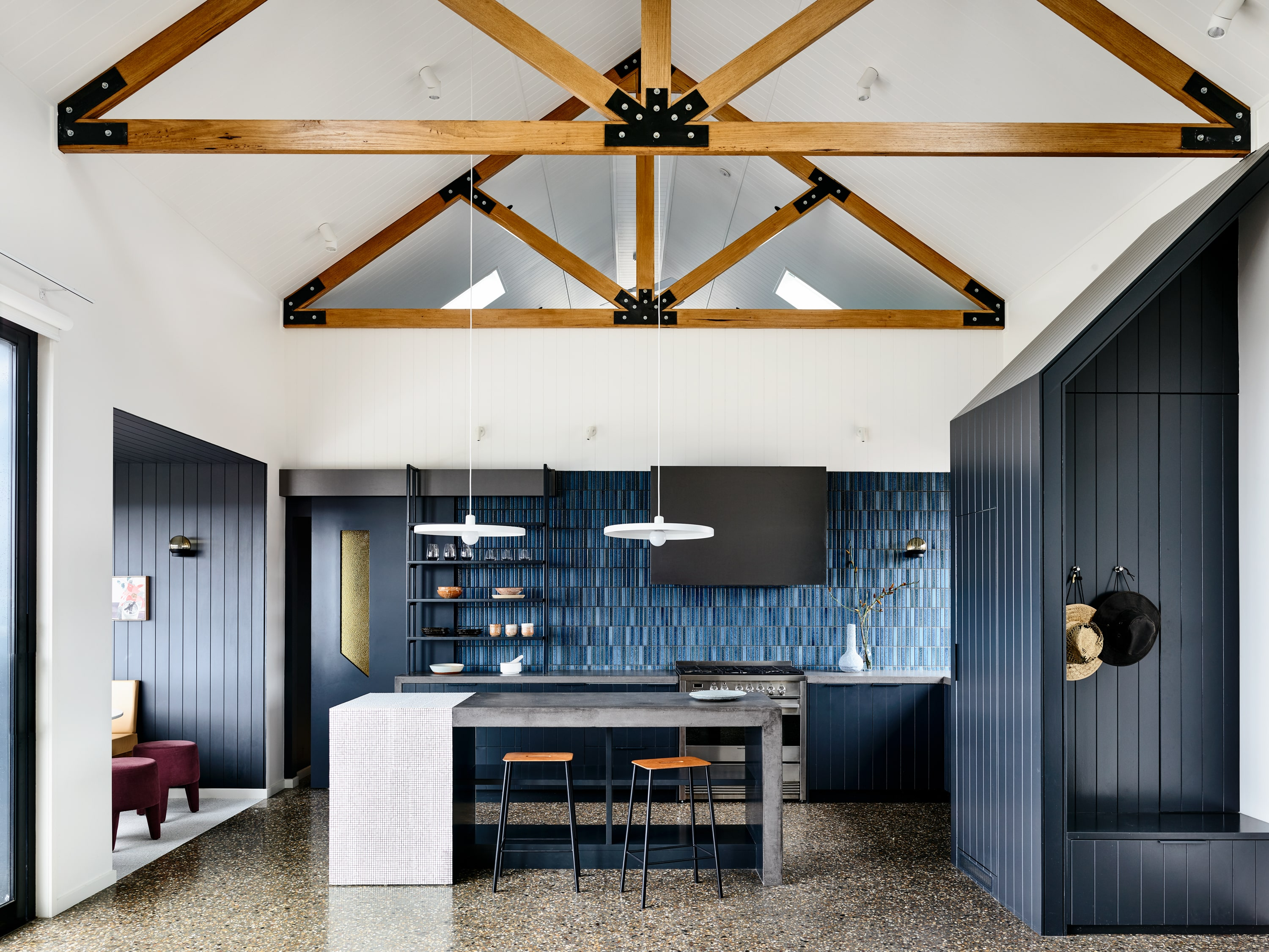 Gallery Of Beechworth Residence By Doherty Design Studio Local Residential Architecture Beechworth, Vic Image 1