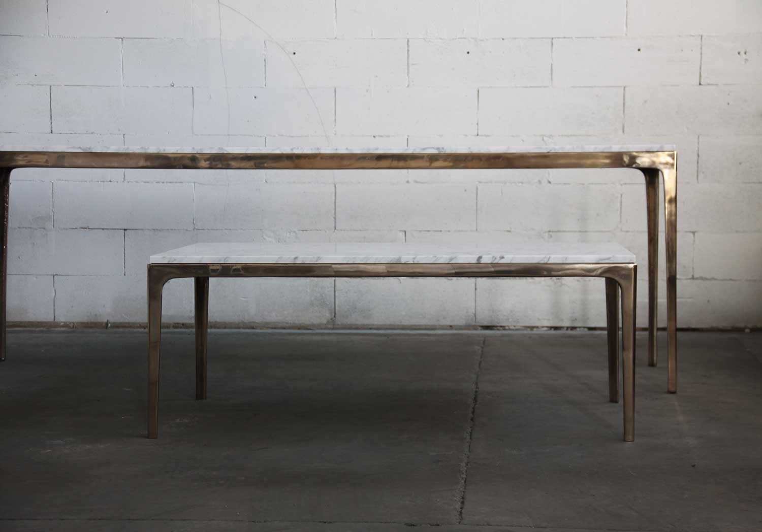 Gallery Of Bronze Console Table By Barbera Local Australian Furniture, Lighting & Object Design Melbourne, Vic Image 1